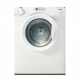 White Knight 3kg Compact Vented Tumble Dryer (white - D energy rating)