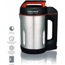 Morphy Richards 1000W Soup Maker (stainless steel)