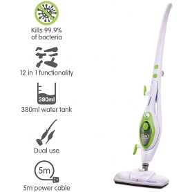Morphy Richards Steam Mop 12 in 1 (white)