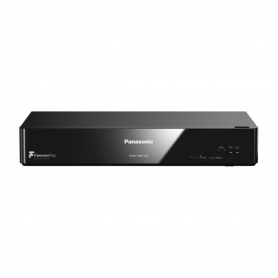 Panasonic 500GB Freeview HD Recorder (black)
