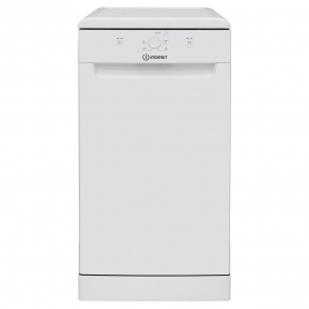 Indesit 10 Place Slimline Dishwasher - - White
