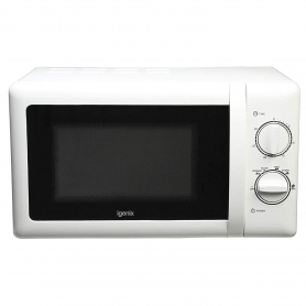 Igenix 20 Lt Manual Microwave (white)