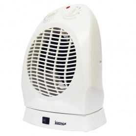 Igenix 2kw Upright Fan Heater (white)