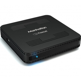 Manhattan Satellite TV Freesat Box (black)