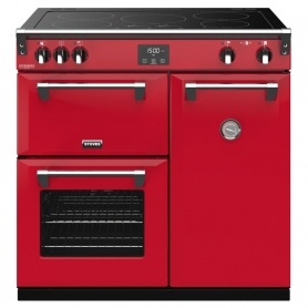 Stoves 90cm Induction Range Cooker (red)