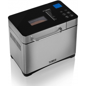 Tower Bread Maker (stainless steel)