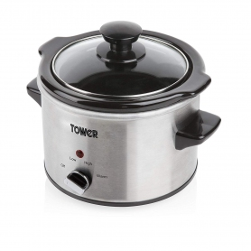 Tower 1.5 Ltr Slow Cooker (stainless steel)