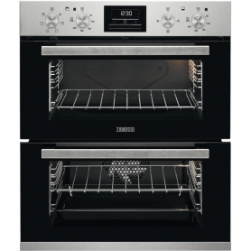 Zanussi Built Under Double Oven (stainless steel - energy rating A/A)