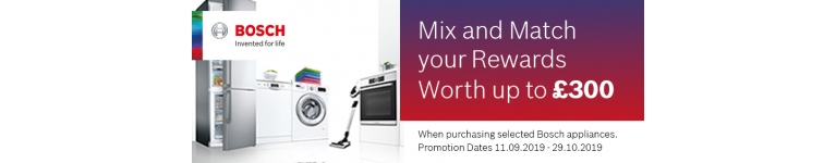 Bosch Mix & Match Cash Back Promotion