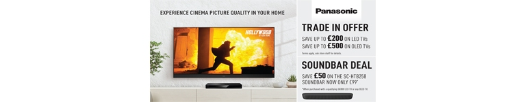 Panasonic TV Trade In